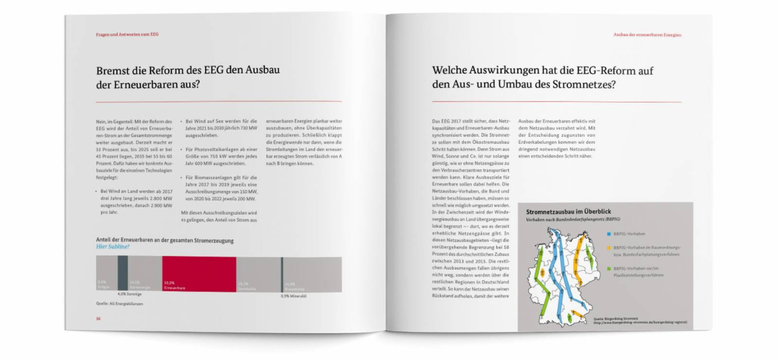 ETPTT, BMWI booklet, Energiewende, layout, typesetting, final artwork